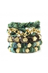 "Ettika Womens ""On The Reef"" Stack Bracelets"