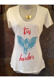 Try Harder Tee